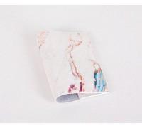 Кожаная обложка для паспорта -Мраморный-