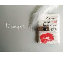 Обложки на ID карту (пласт. паспорт) ГОТОВЫЕ оптом из каталога (экокожа, от 10 шт)