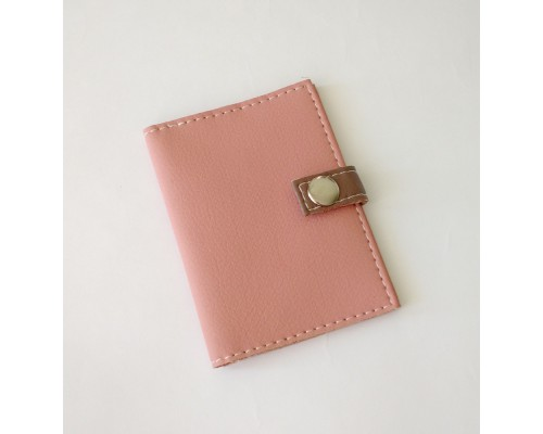 Обложка для ID паспорта -Just Pink-