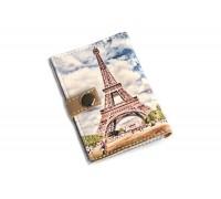 Обложка для ID паспорта -Эйфелева башня-