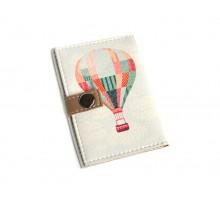 Обложка для ID паспорта -Воздушный шар-