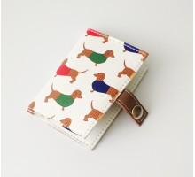 """Обложка для нового id-паспорта """"Такса"""""""