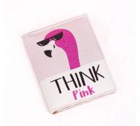 Обложка для пластикового ID паспорта -Think Pink-