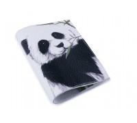 Женская обложка для паспорта -Панда-