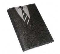 Обложка для паспорта -Галстук-
