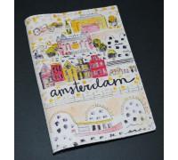 Обложка для паспорта -Amsterdam-