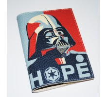 Кожаная обложка для паспорта -Звездные войны-