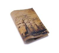 Винтажная обложка на паспорт -Старинная карта-