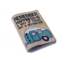 Кожаная обложка для паспорта/загранпаспорта -Обложка для загранпаспорта-