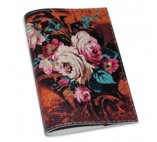 Винтажная обложка на паспорт -Осенний букет-