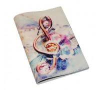 Обложка для паспорта -Скрипичный ключ-