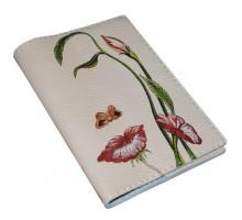 Кожаная женская обложка для паспорта -Октавио Окампо Иллюзии-