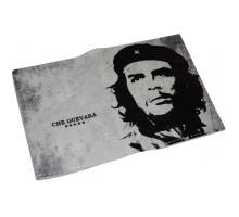 Кожаная мужская обложка для паспорта -Чегевара-