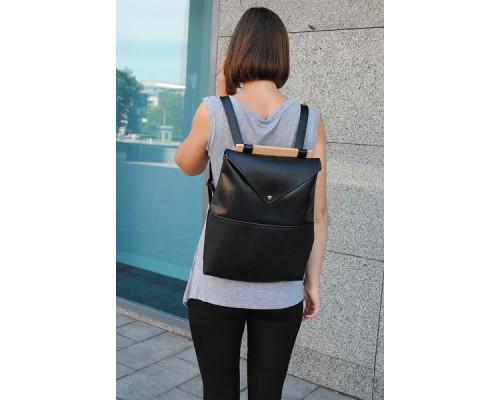 Рюкзак женский черный по дропшиппингу