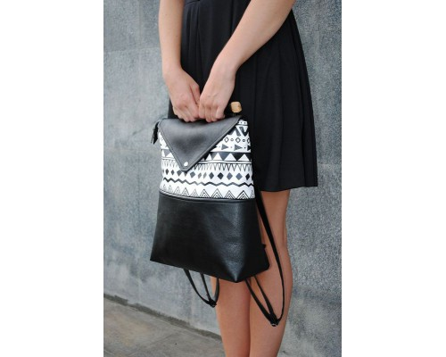 Рюкзак женский с принтом по дропшиппингу