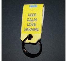 Украинский сувенир -Keep calm and love Ukraine-