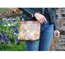 """Женская сумка через плечо """"Карта"""""""
