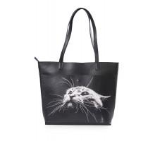 "Женская сумка-шоппер ""Кот"""