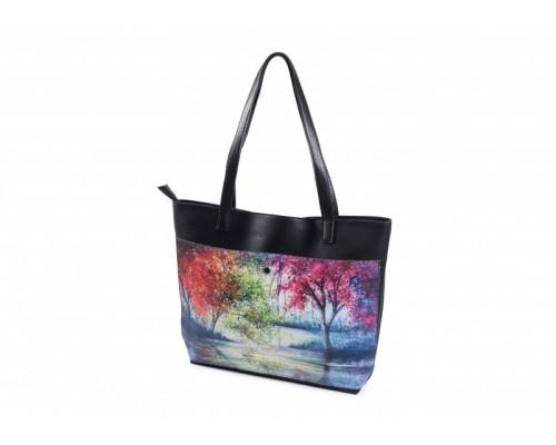 "Женская сумка-шоппер ""Чарующий лес"""