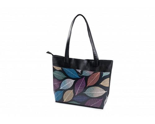 """Женская сумка-шоппер """"Листья"""""""