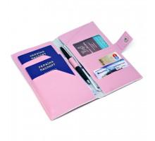 "Тревел-кейс на 2 паспорта для авиабилетов ""Pudra"""